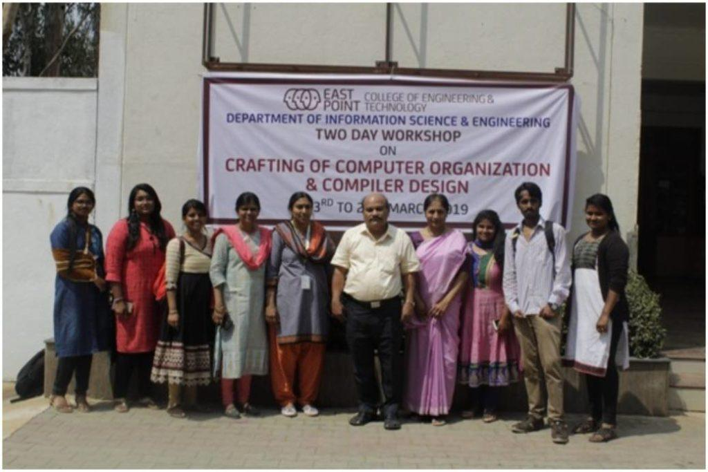 Crafting of Computer Organization and Compiler Design Workshop