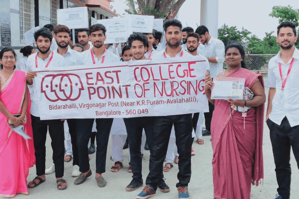 Rally On Dengue Awareness