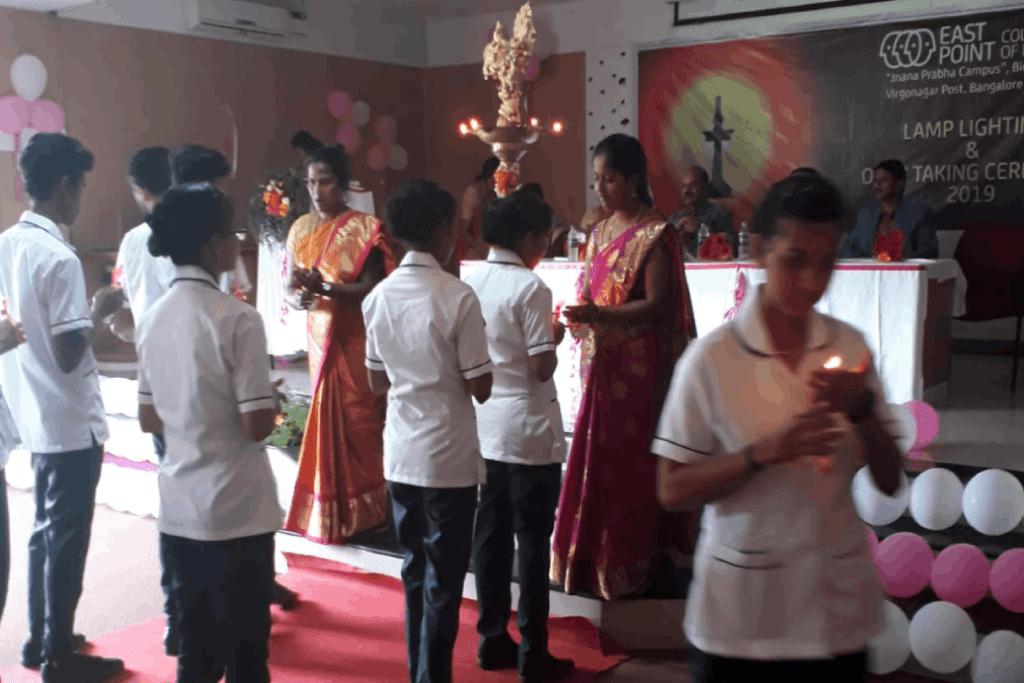 Lamp Lighting & Oath Taking Ceremony of 2018 -19 Batch B.Sc Nursing Student