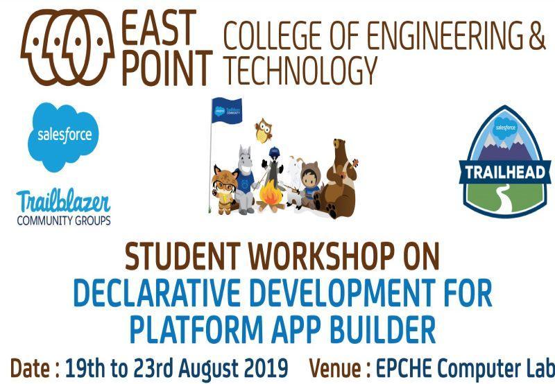 Student Workshop On Declarative Development For Platform App Builder