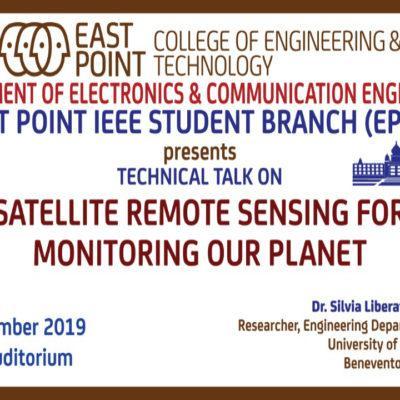 Technical Talk On Satellite Remote Sensing