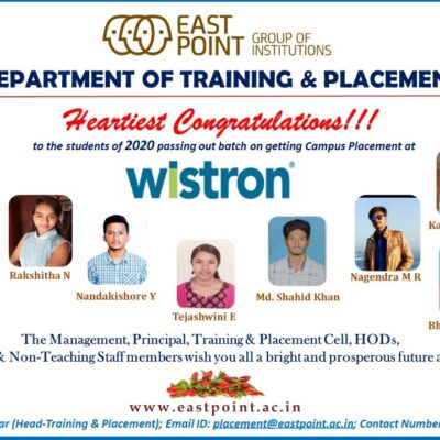 Placed in Wistron